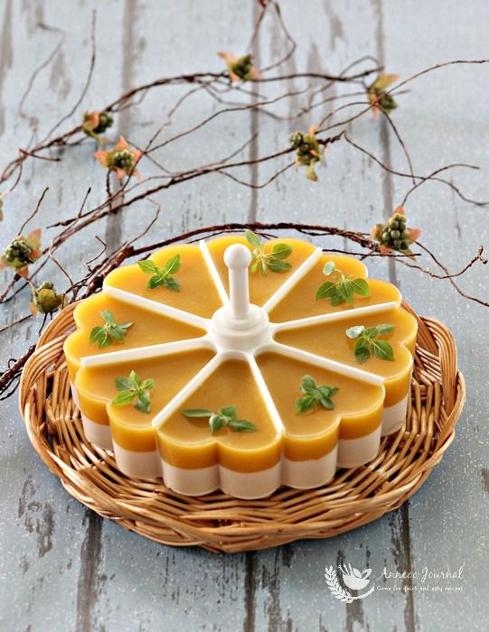 Mango Coconut Jelly 芒果椰香果冻