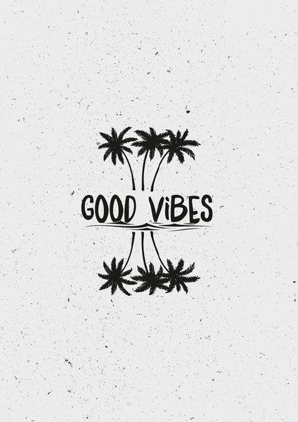Good Vibes Art Print by Mason Denaro | Society6