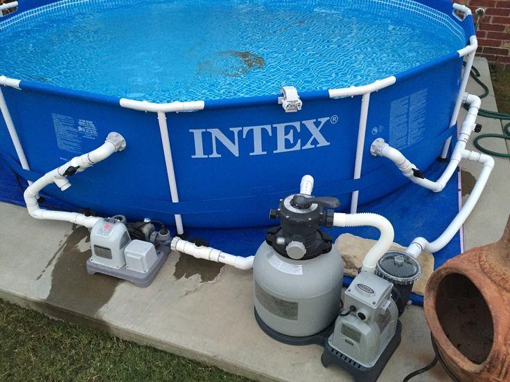 Intex Pool Plumbing : Custom pvc pipe adapter for intex pools page
