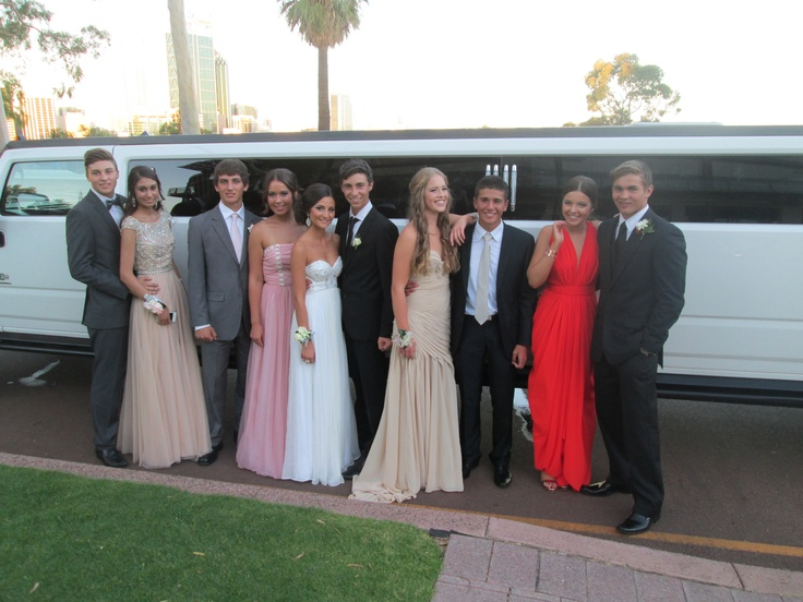 The Hummer in Kings Park for a photoshoot. It is a very popular location for school ball photos