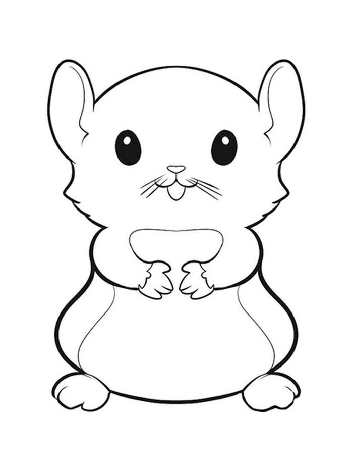 Collection Of Hamster Coloring Pages In 2020 Cute Coloring Pages Animal Coloring Pages Cute Hamsters