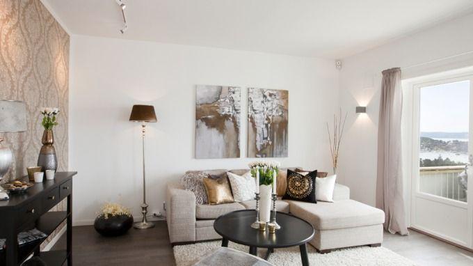 247 best decoraci n salones images on pinterest giving - Salones modernos pequenos ...