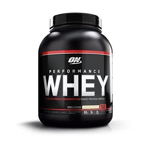Optimum Nutrition Performance Whey Protein Powder Whey Protein Concentrate Whey Protein Isolate Hydrolyzed Whey Protein Isolate Flavor: Vanilla 50 Servings