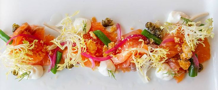 The Smokery Kitchen & Bar House cured smoked salmon featured in @thebigeatontario  #thesmokerystouffville @thesmokery.ca