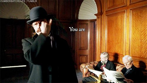 cumberbatchlives:  Absolute Silence - The Diogenes Club