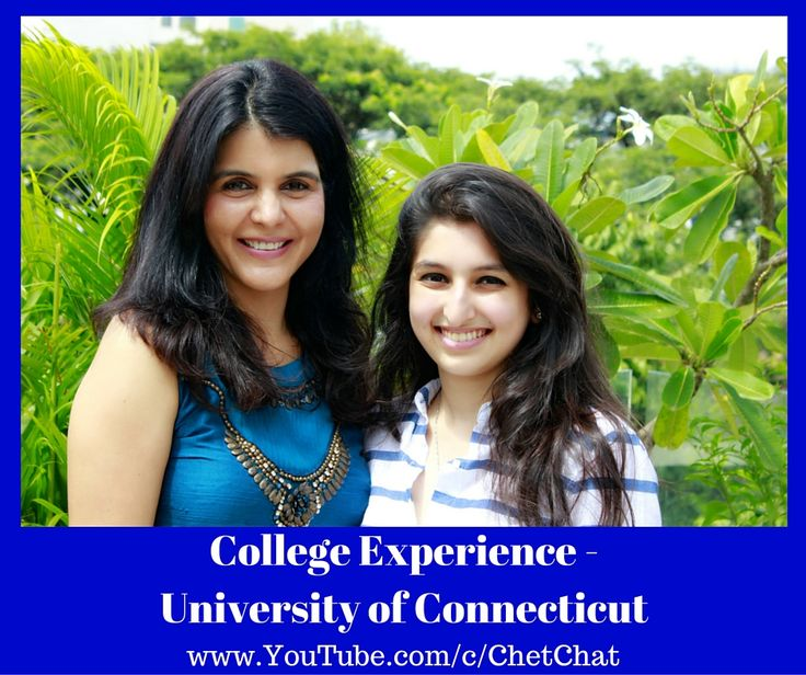 Chet Chat Video on College Experience in University of Connecticut. Junior talks about the scholarship program for International students, the multi-million dollar investments the university is making, several activities that she is involved on campus, college dorm room and much more !