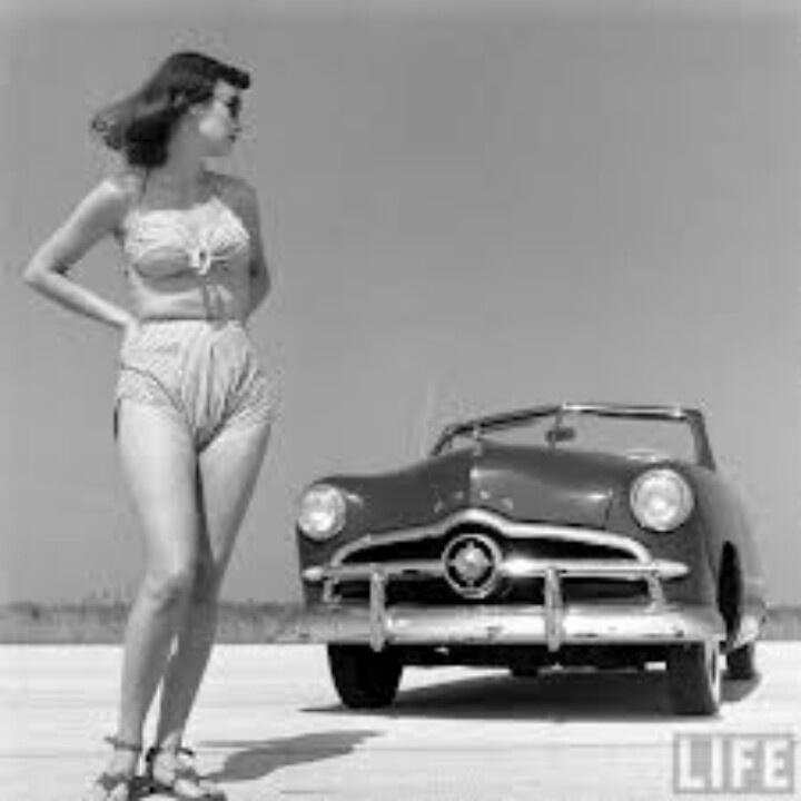 1940s modeling.
