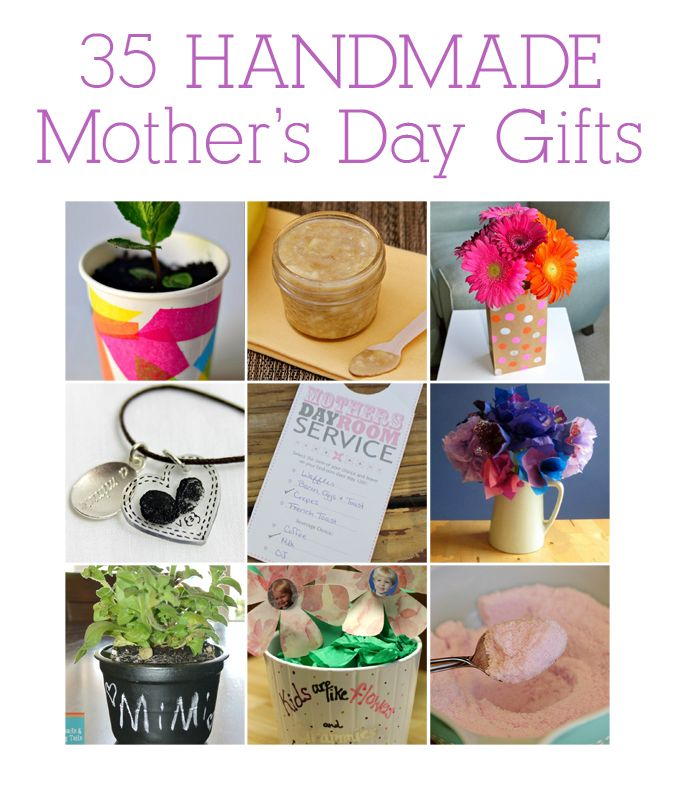 35 Handmade Mother's Day Gifts
