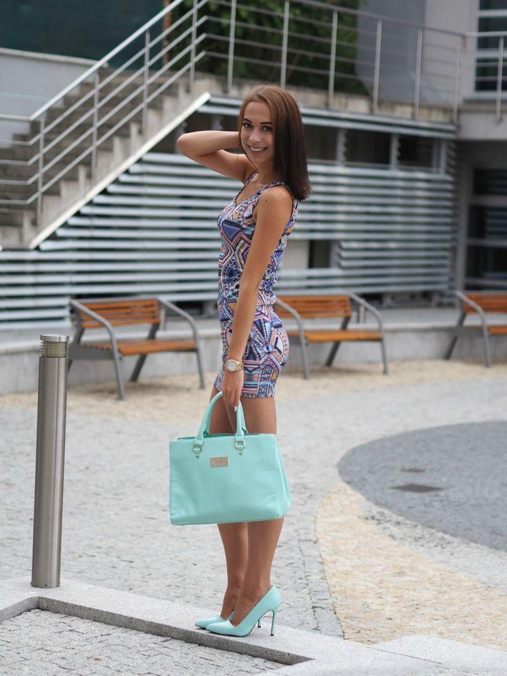 Fashion Lady An: geometric minidress ♥