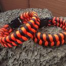 I love this for the simple fact that I could make it out of other materials as well.     TWO COLOR PARACORD FISHTAIL BRACELET