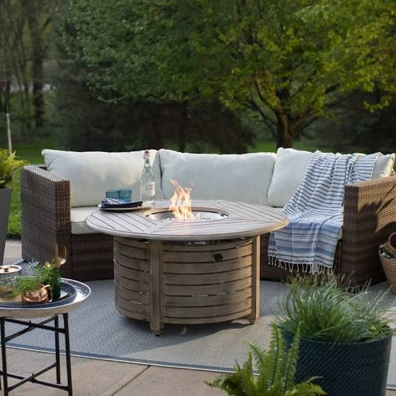 propane fire pit table