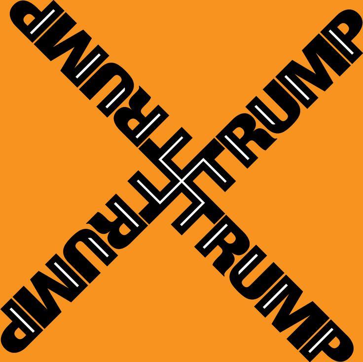 Trump. Orange Hitler.