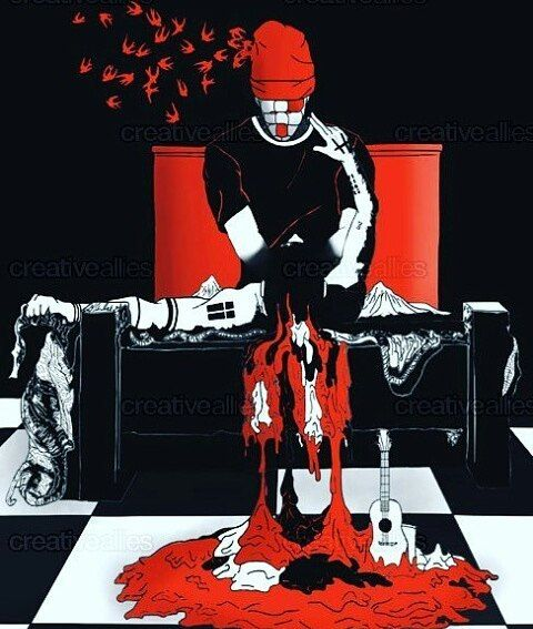 probably one of my favorite blurryface themed clique art ever made