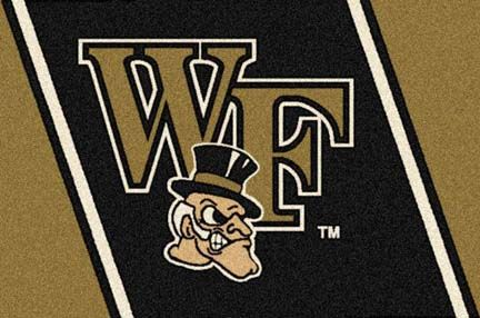 Wake Forest Demon Deacons 4' x 6' Team Door Mat: Get in the game...with an NCAA Wake Forest Demon… #sports #sportsshopping #sportswear