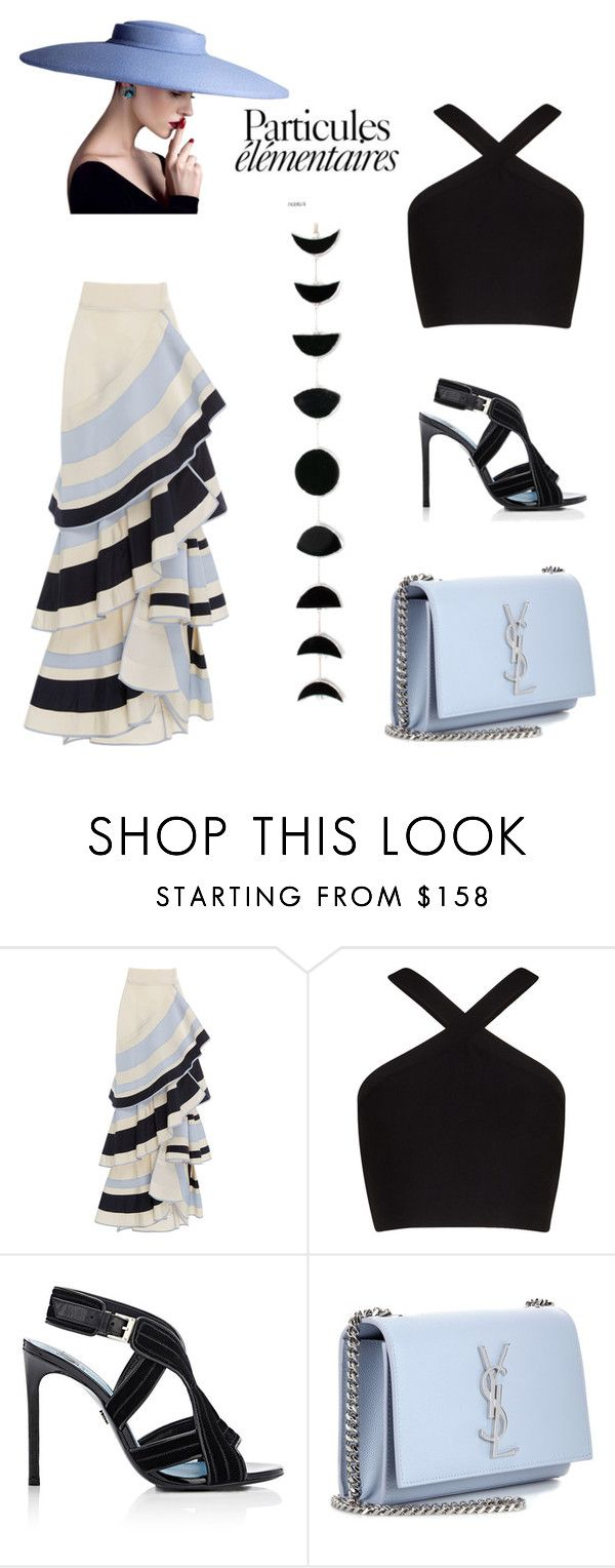 """""""17 of July my name day!"""" by marifimarina ❤ liked on Polyvore featuring Johanna Ortiz, BCBGMAXAZRIA, Lanvin and Yves Saint Laurent"""