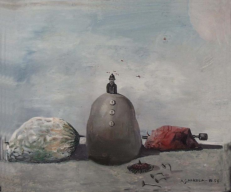 Alpo Jaakola: Still Life in the Nature, 1956