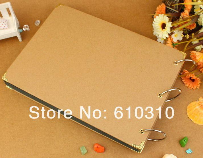 Gratis verzending hotsale no gedrukt diy album plakboek ambachten diy handgemaakte corver foto houder (30 vel innerlijke kaart) in Houd er rekening mee:als u vindt dat de producten die u besteltGebroken. Verkeerdeofverdwijnen. alsjeblieft niet bezorgd van fotoalbums op AliExpress.com | Alibaba Groep