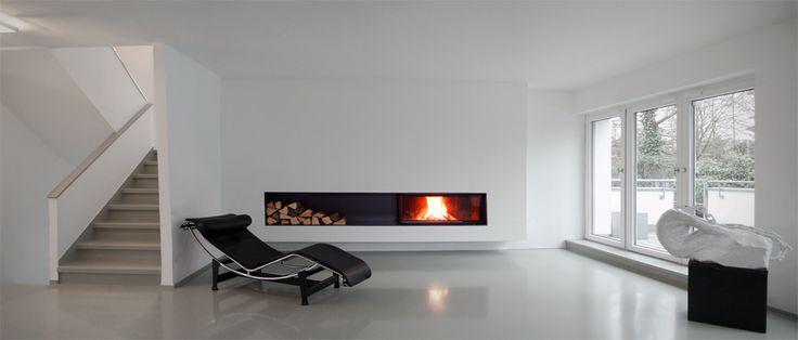 17 best images about moderne kamine aus rohstahl und beton. Black Bedroom Furniture Sets. Home Design Ideas