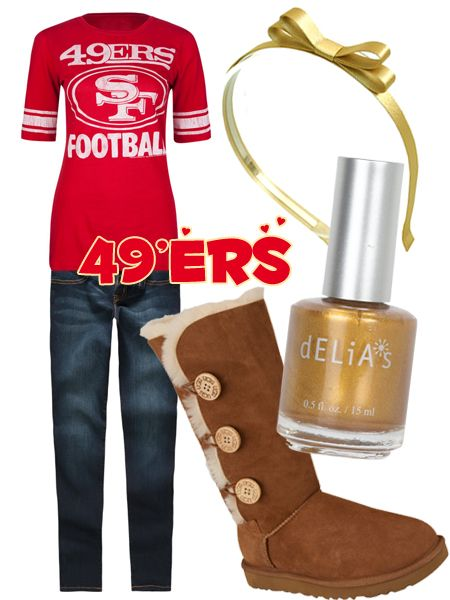 Niners!!: Niners National, 49Ers Girls, 49Ers Clothing, 49Ers Outfit, Outfit Idea, Niners Baby, Games Day Outfit, 49Ers Gears, San Francisco 49Ers