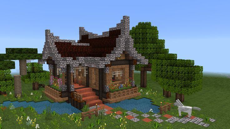 Minecraft House Step By Step