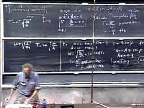 Lecture 10  Hooke's Law   Springs   Simple Harmonic Motion   Pendulum   ...