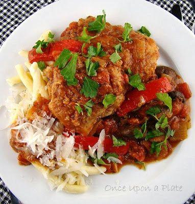Lidia Bastianich's Chicken Cacciatore-- one of my favorite comfort foods