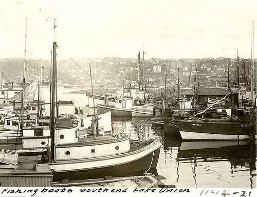214 best vintage seattle images on pinterest seattle for Fishing boats seattle