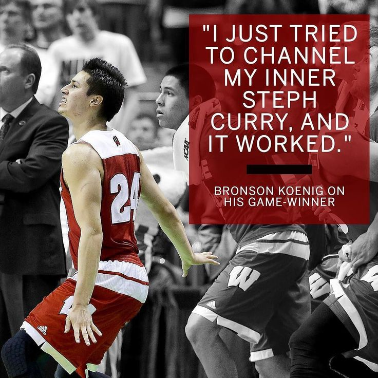 Wisconsin is in the Sweet 16 thanks to Bronson Koenig's buzzer-beater. by espn