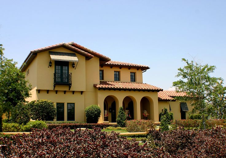 Construction Of Venetian Court In The Mediterranean Revival Spanish Colonial Revival And