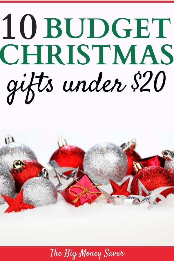 10 Budget Christmas Gifts Under 20 Get The Perfect Gifts On A Budget Budget Christmas Gifts Christmas On A Budget Frugal Christmas