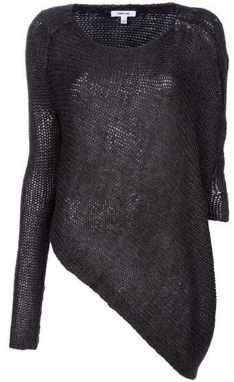 helmut lang asymmetric sweater