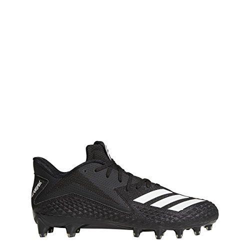 adidas Men's Freak x Carbon Football Shoe, Black/White/Black, ...