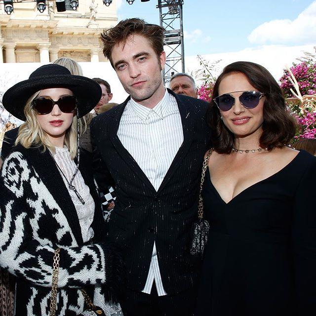 Знаменитости на Показе Christian Dior #знаменитости #показ #ChristianDior #мода