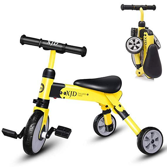 Amazon Com 2 In 1 Kids Glide Tricycles Toddler Tricycle Baby