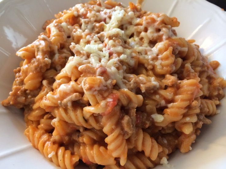 My delicious pasta :)