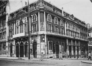 Rua e teatro dos Condes, 1888
