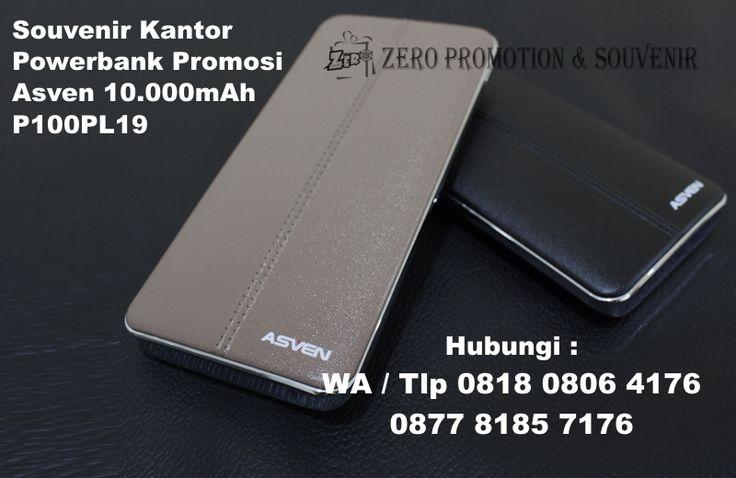 Souvenir Kantor Powerbank Promosi Asven 10.000mAh P100PL19