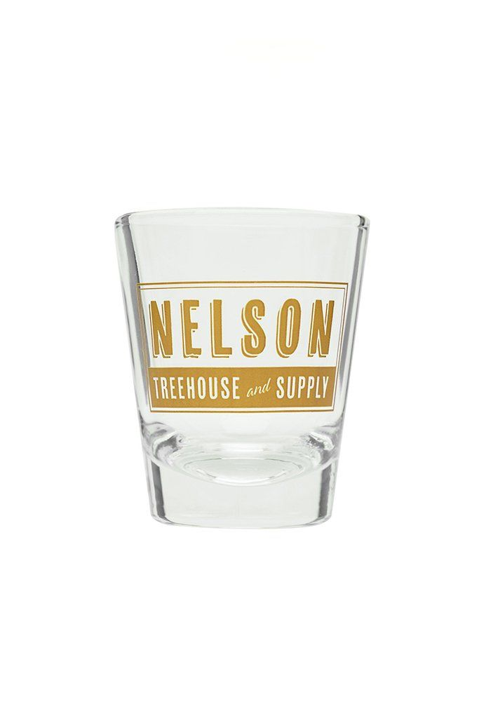 Nelson Treehouse and Supply Shot Glass
