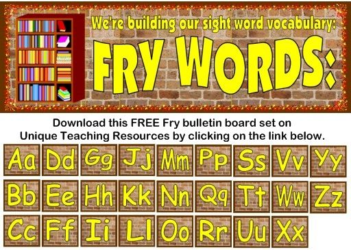 English In Italian: Fry 1000 Instant Words For Teaching Reading: Free Flash