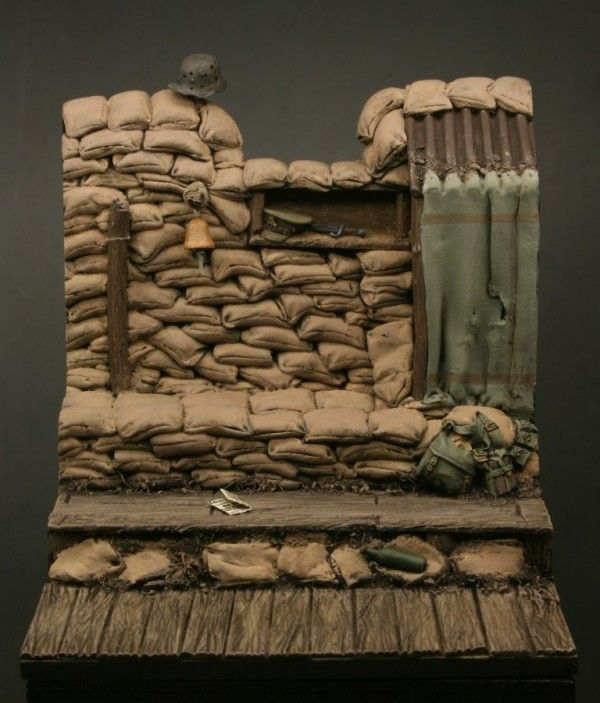 The 54mm Ploegsteert Wood Diorama Base, coming soon to highcalibreminiatures.com