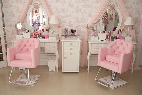 The interior of the salon where bad boys become good girls.