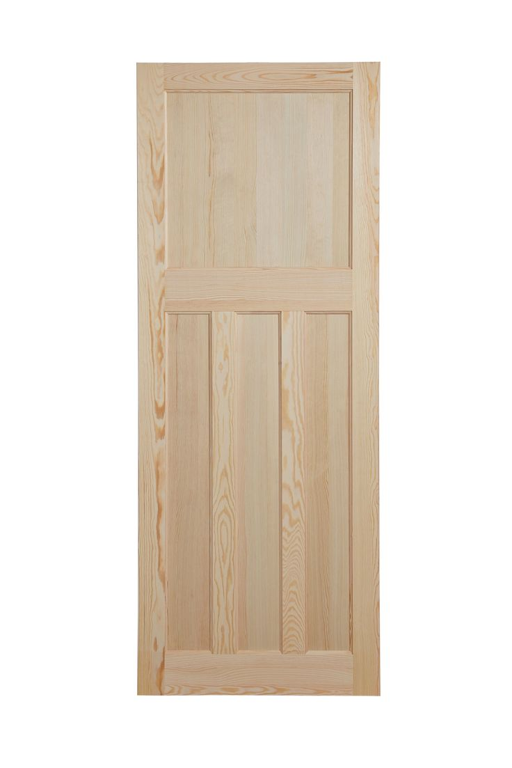 Traditional Panelled Clear Pine Internal Unglazed Door, (H)1981mm (W)610mm   Departments   DIY at B&Q