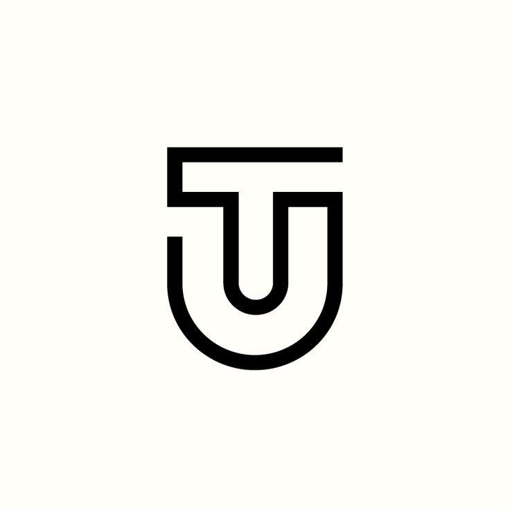 TU Monogram by Richard Baird. (Available). #logo #branding