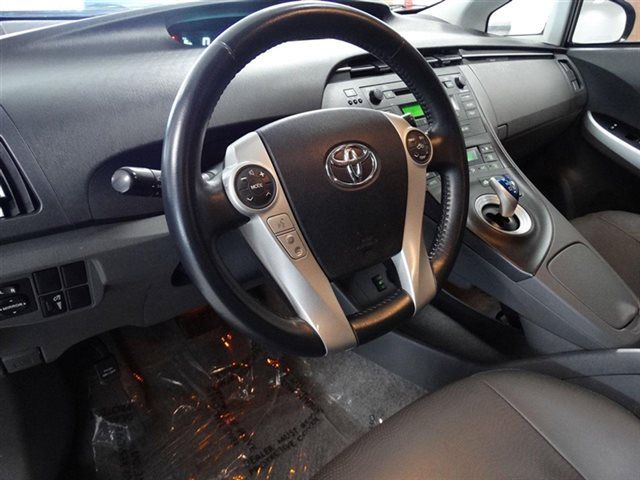 The Toyota Prius is a gas-electric hybrid that sets the standard for environmentally-friendly transportation. http://bit.ly/1BIRR3s