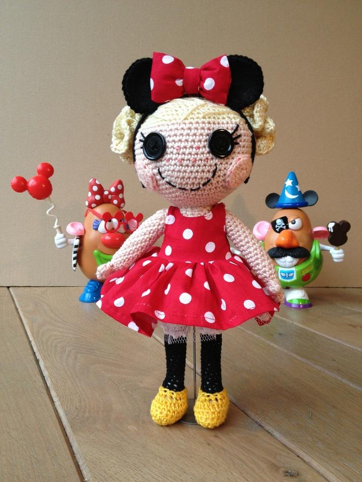 Crochet Minnie Mouse Doll : 1000+ images about Crochet ideas on Pinterest Crochet ...