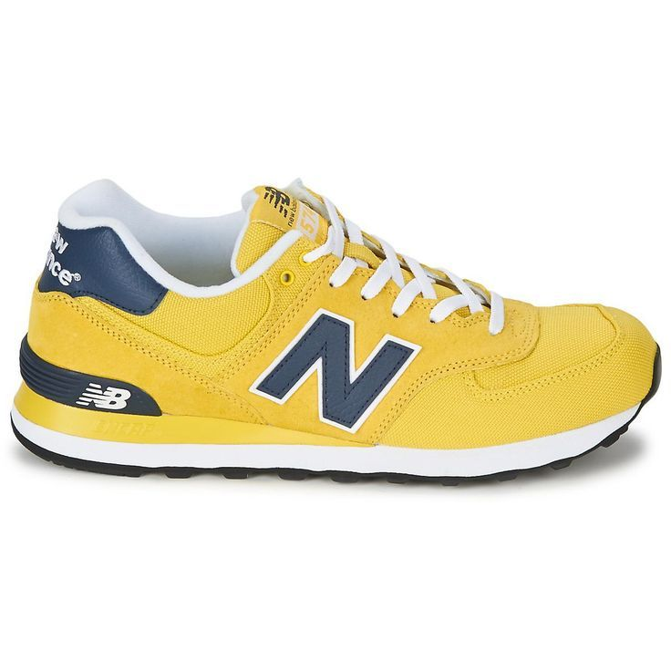 New Balance 574 Men's Yellow Blue M574 Delivery Mode:Free Shipping Return Policy:60 Days Free Returns More Buy More Discount Come From: http://www.new-balance-factory-store.com/new-balance-574-mens-yellow-grey-574-p-92.html