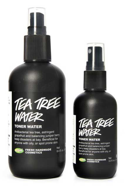"Lush Tea Tree Toner Water   ""I went into Lush pretty recently to get a face mask, and a sales associate asked if I had ever used the brand's tea tree toner water. One spritz of this stuff was all it took. It's perfect for my combination skin, and even makes me feel a bit more awake in the morning. That last part's probably all in my head, but I'll take it."""