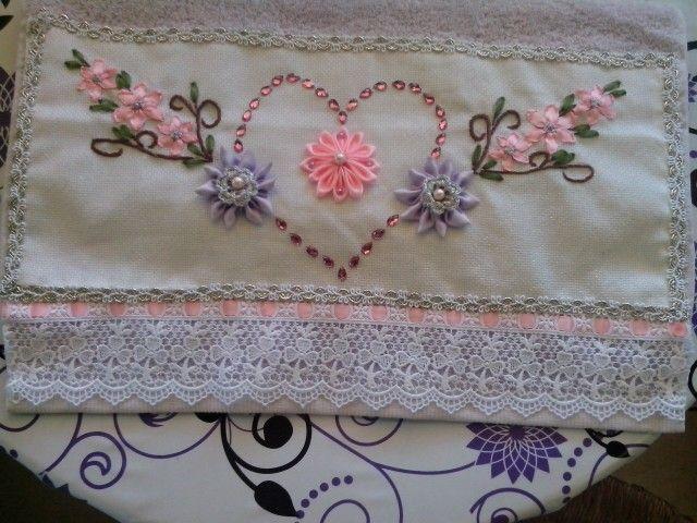 Ribbons flowers!