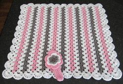 baby-girl-gift-set-crochet-baby-blanket-with-headb-4.jpg (250×171)
