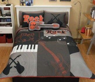 Teen Boy Bedding Music